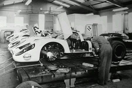 Préparation véhicule de compétition